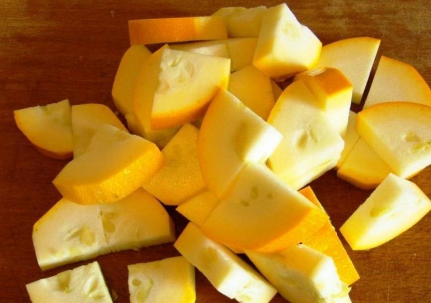 Овощное рагу с охотничьими колбасками - пошаговый рецепт