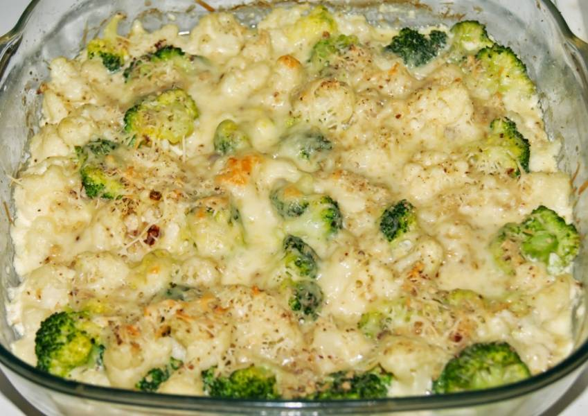 блюда из цветной капусты приготовление цветной