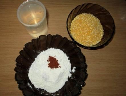 Биточки из кукурузной каши - пошаговый рецепт