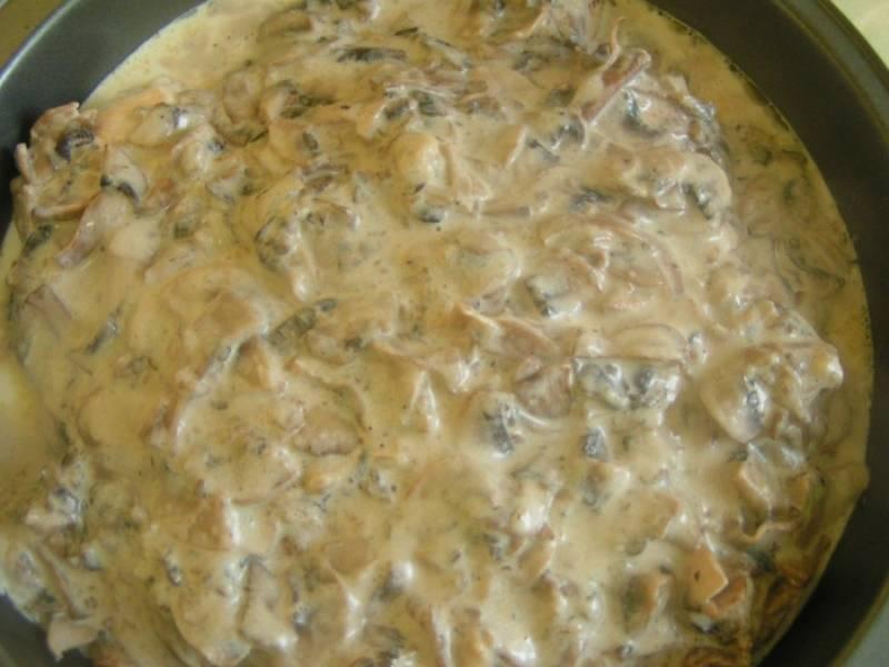 Курица с грибами на сковороде - пошаговый рецепт