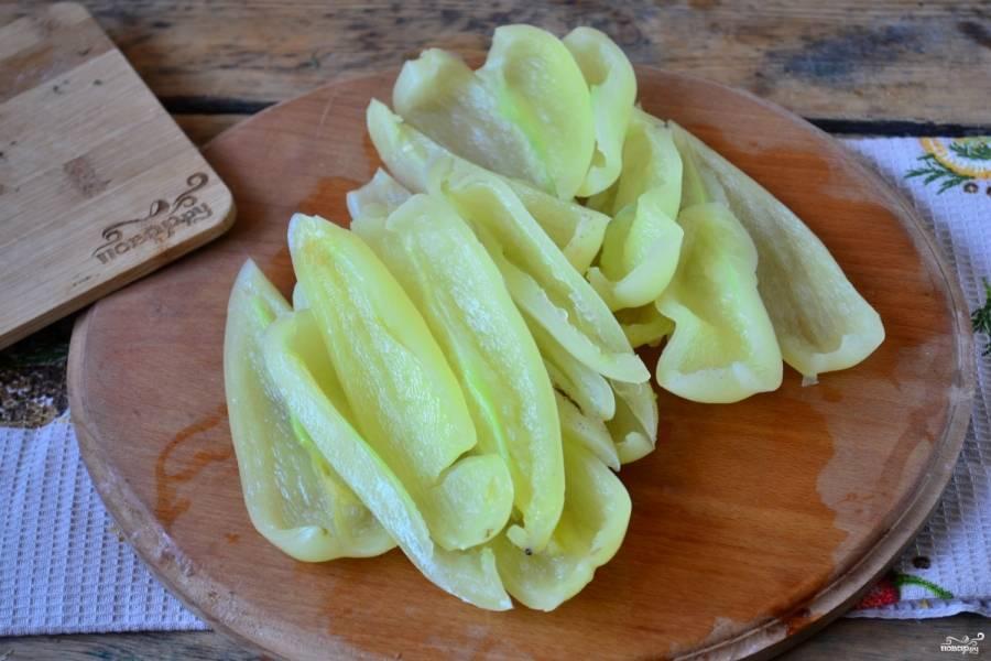 Сладкий перец на зиму без стерилизации - пошаговый рецепт с фото на