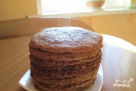 Печеночный торт из говяжьей печени - пошаговый рецепт