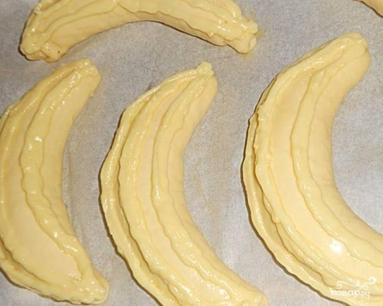 Булочки с банановой начинкой - пошаговый рецепт