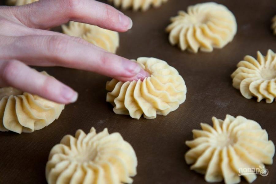Песочное печенье - Курабье - пошаговый рецепт с фото на