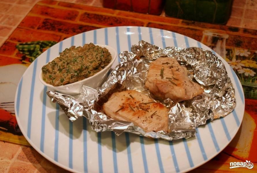 Свинина в фольге в духовке - пошаговый рецепт с фото на