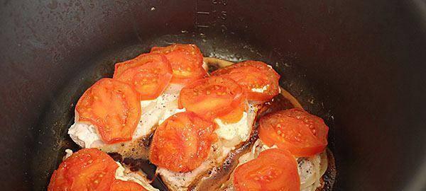 Курица по-французски в мультиварке - пошаговый рецепт