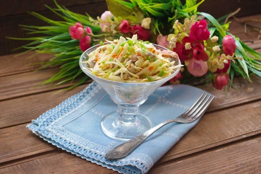 Краковский салат - пошаговый рецепт