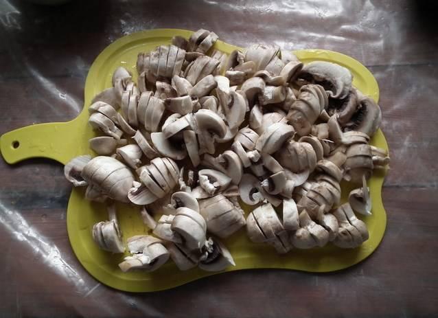Курица с баклажанами и грибами - пошаговый рецепт