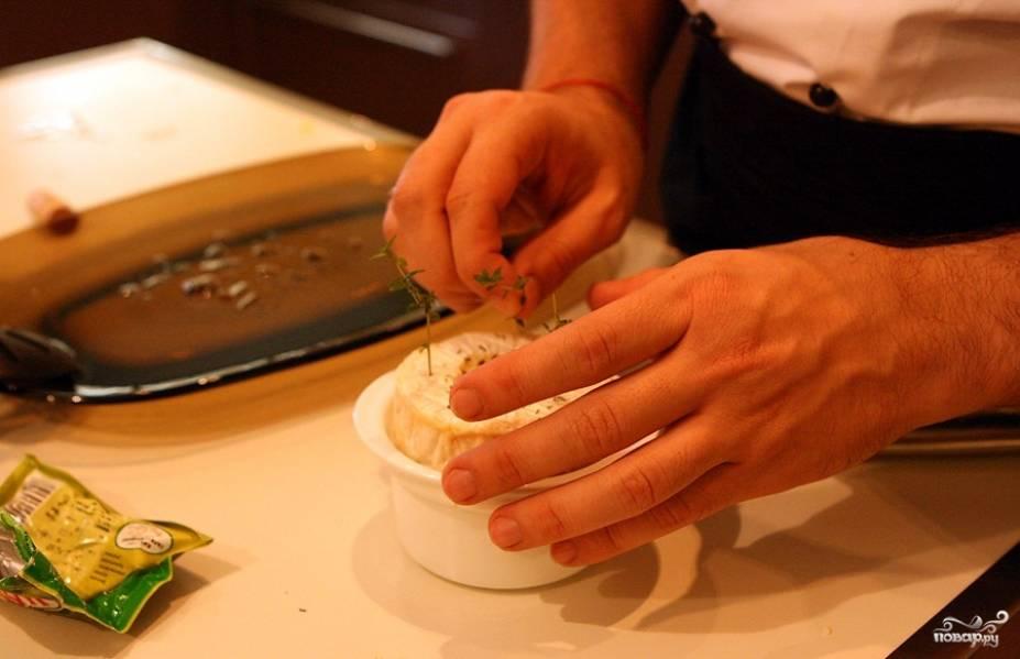 Запеченный камамбер - пошаговый рецепт с фото на