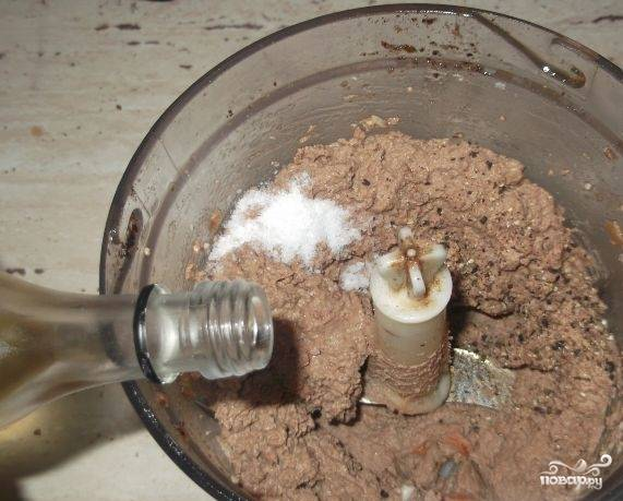 Домашний паштет из куриной печени - пошаговый рецепт
