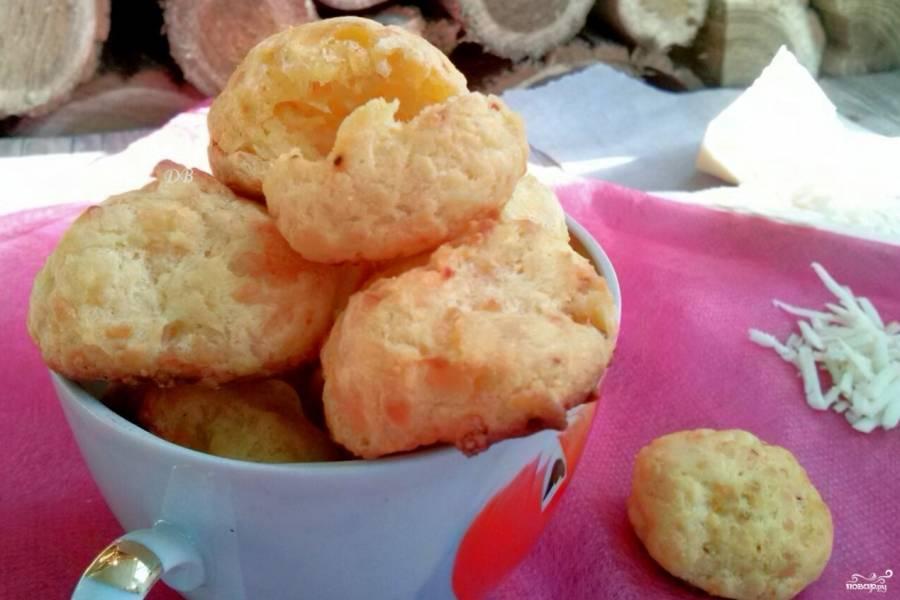 Сырные булочки из заварного теста