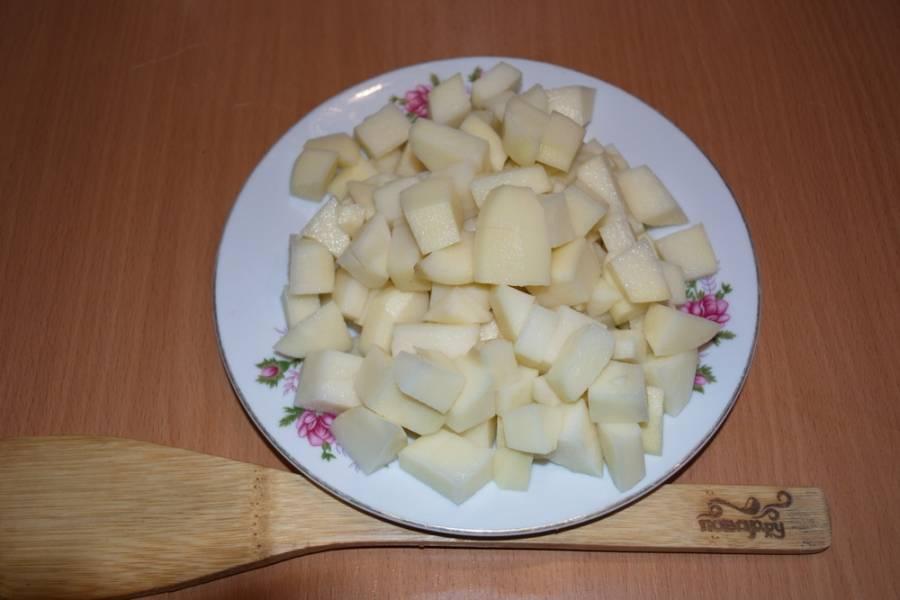 Солянка с картошкой - пошаговый рецепт