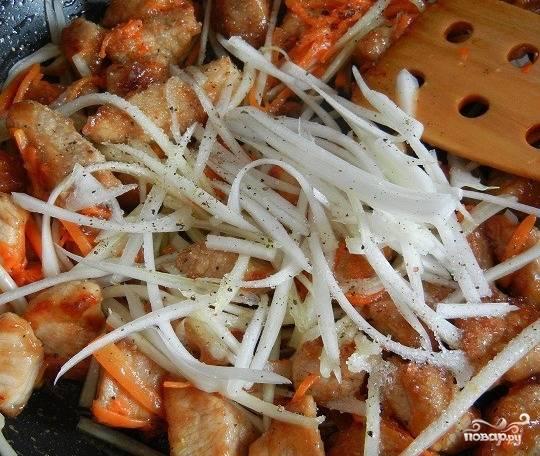 Свинина по-китайски в кисло-сладком соусе - пошаговый рецепт