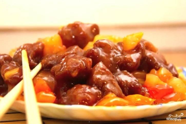 Соевое мясо по-китайски