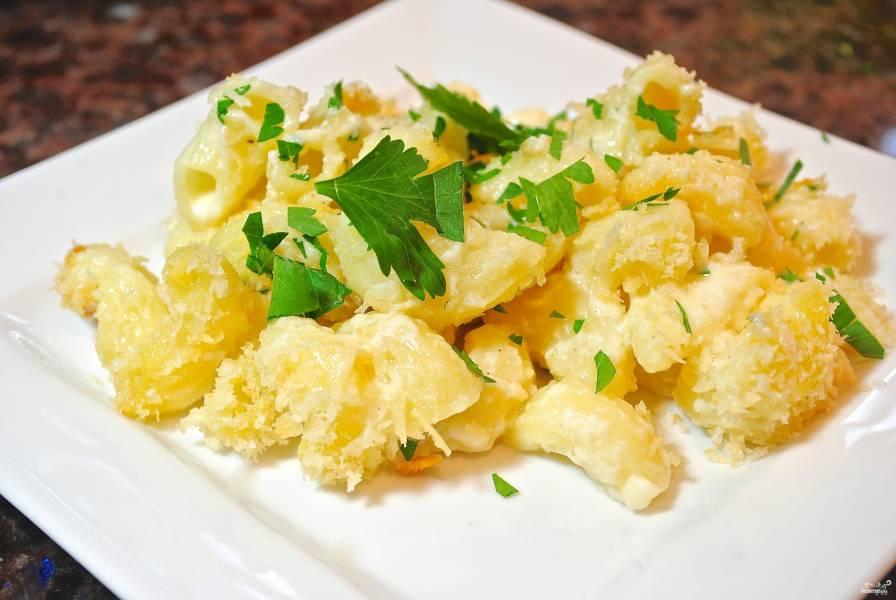 макароны с сыром рецепт с фото