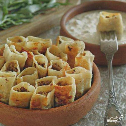 Бораки (армянские пельмени)
