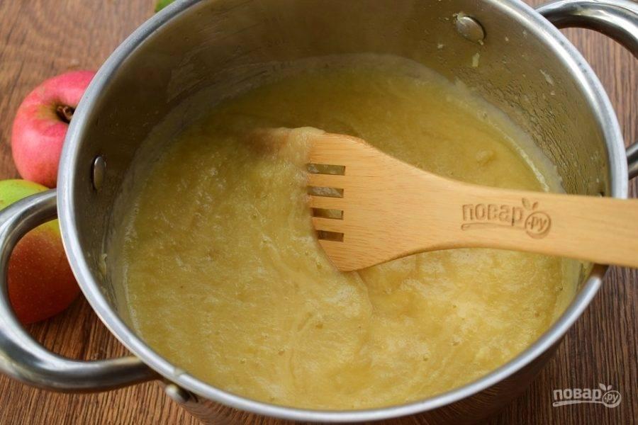 Домашнее яблочное пюре - Неженка - пошаговый рецепт