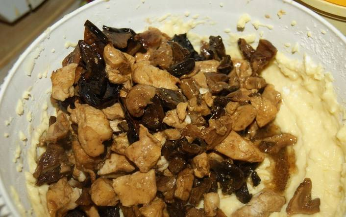 Маффины с курицей и грибами - пошаговый рецепт с фото на