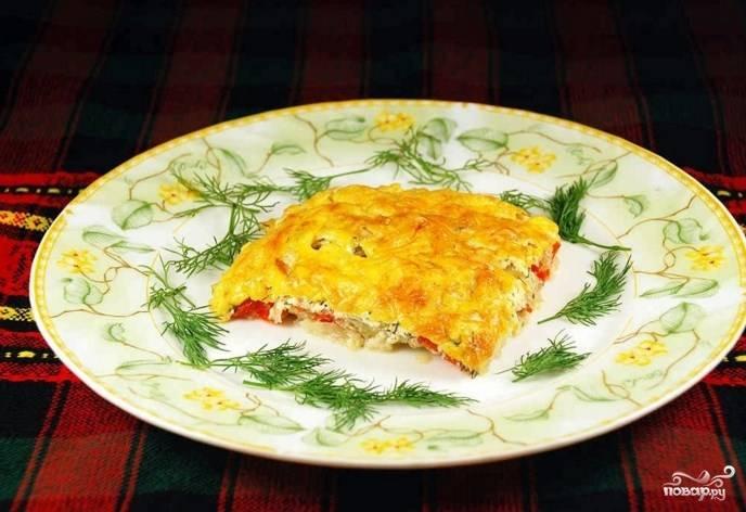 Рыба в духовке со сметаной и сыром - пошаговый рецепт