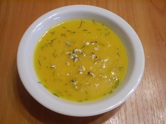 В готовый суп можно добавить зелень или дробленные тыквенные семечки. Приятного аппетита!