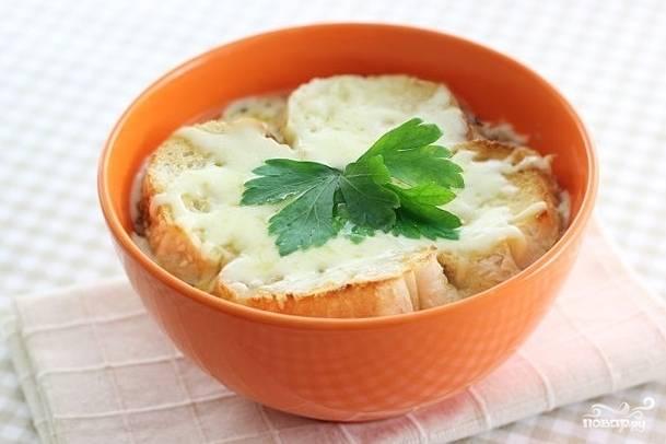 Супы из лука