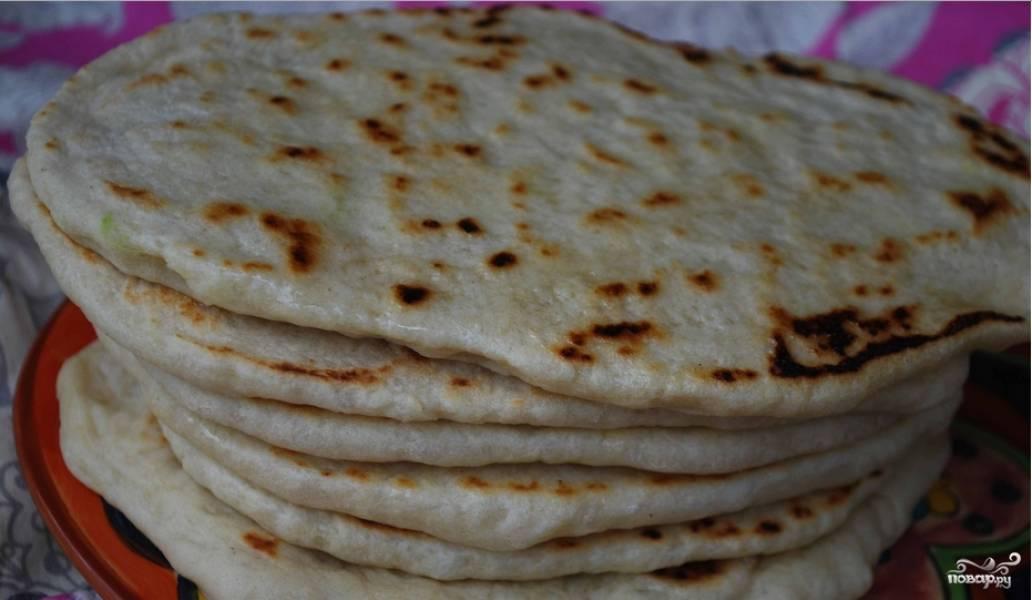 как приготовить армянский лаваш в домашних условиях без дрожжей