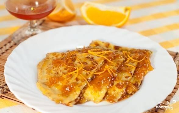 Апельсиновый десерт