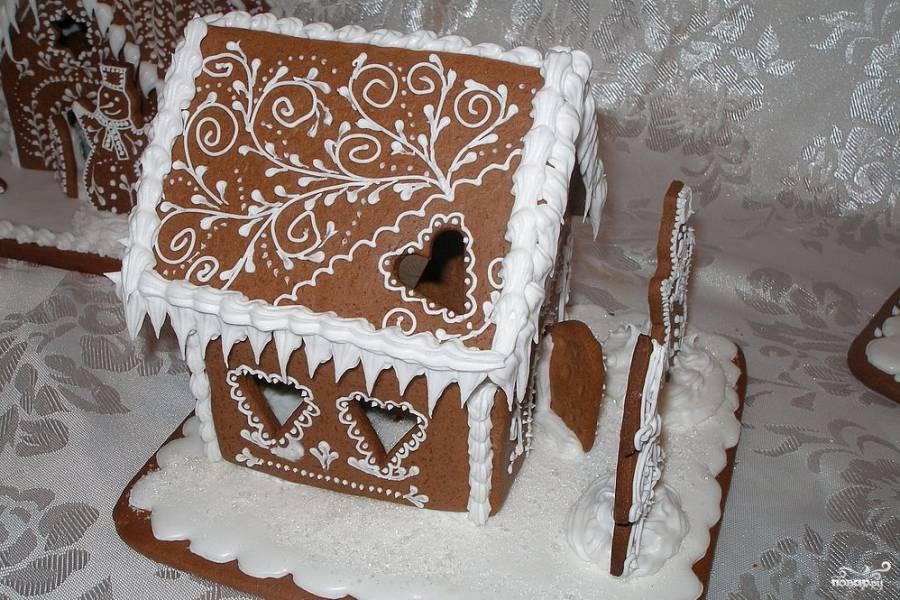 Глазурь для пряничного домика