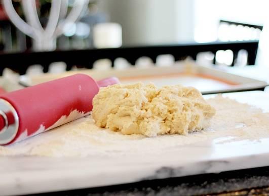 Печенье со сметаной - пошаговый рецепт