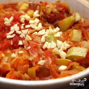 Овощное рагу с кабачками - пошаговый рецепт с фото на