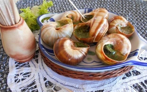 Улитки под соусом - пошаговый рецепт