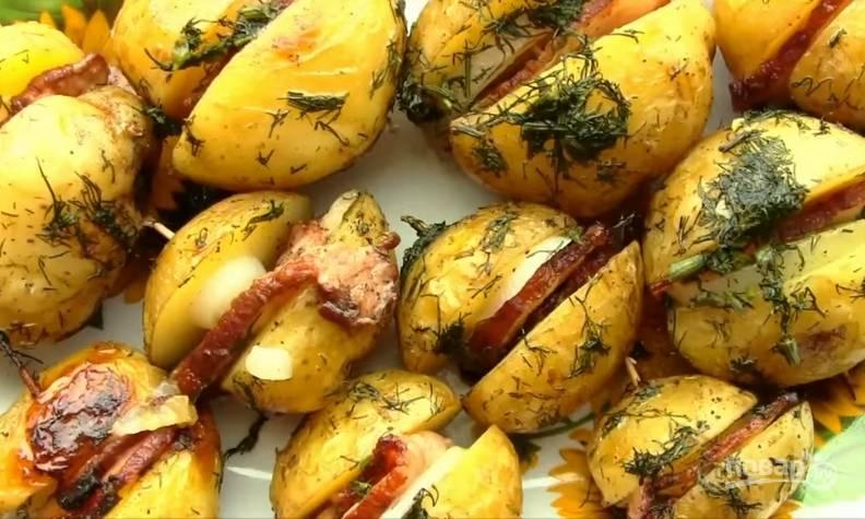 Картошка по-украински, запеченная в духовке - пошаговый рецепт