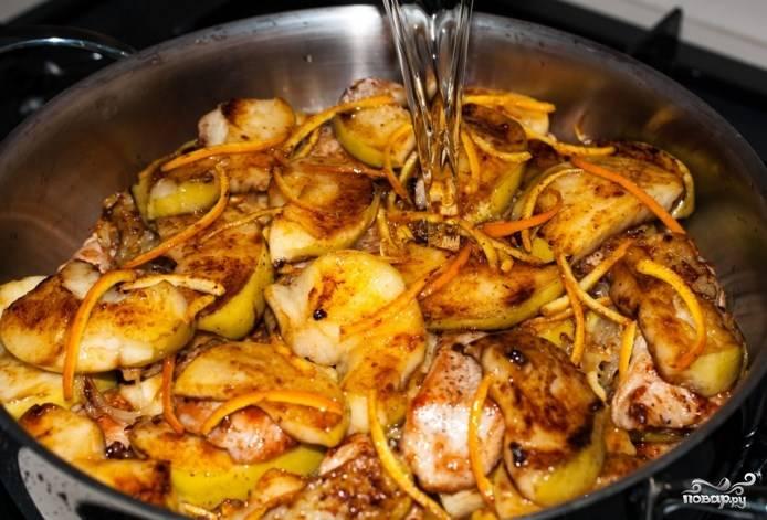 Филе индейки с яблоками в духовке рецепты
