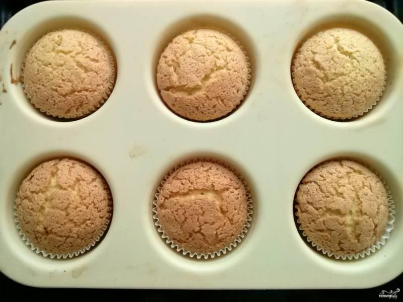 Капкейки классические - пошаговый рецепт с фото на