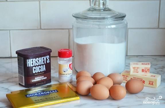 Торт - Королевский - с безе - пошаговый рецепт