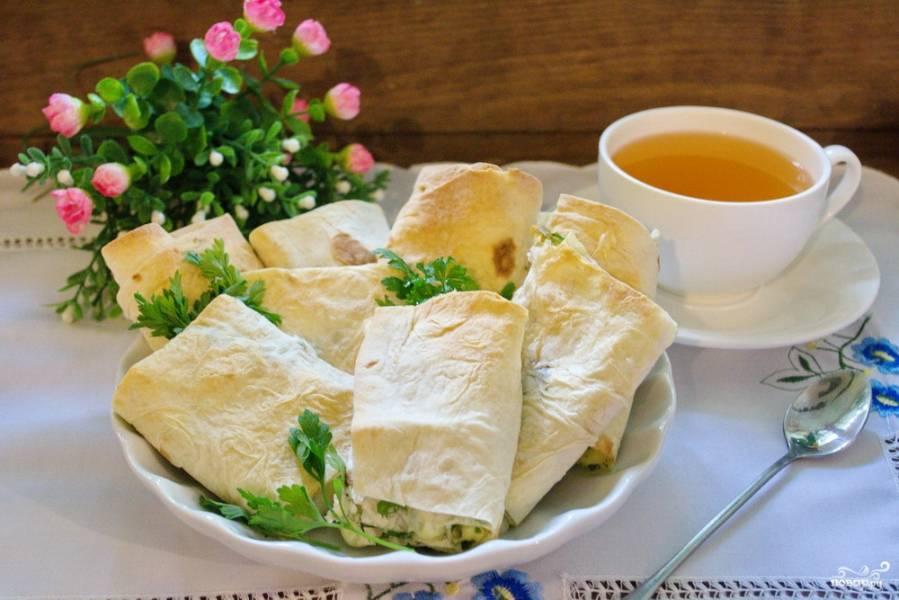 Лаваш рецепт начинка приготовления в домашних условиях