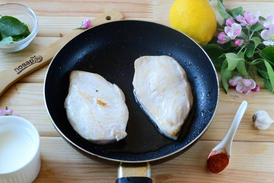 Куриные грудки в лимонном соусе - пошаговый рецепт с фото на