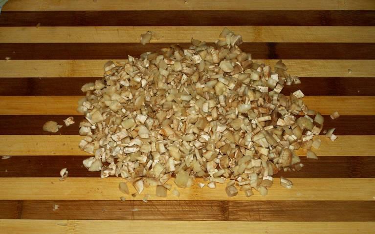 Грибы, запеченные под сыром - пошаговый рецепт