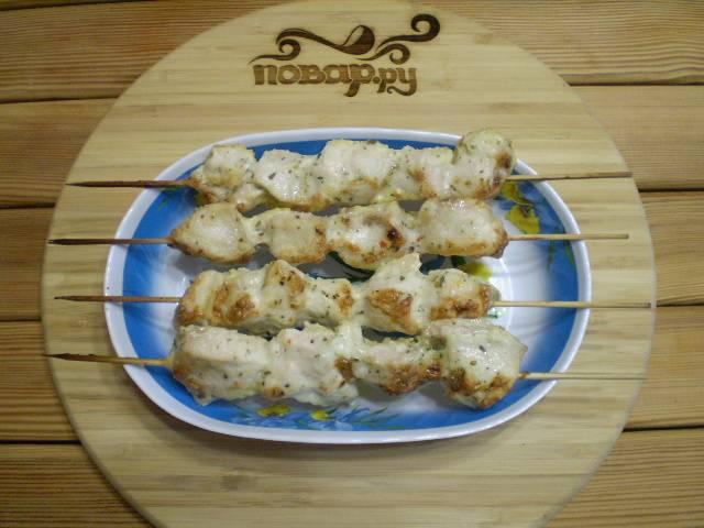 11. Куриные шашлычки для детей готовы! Приятного аппетита!