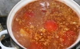 Суп из баранины и риса - пошаговый рецепт