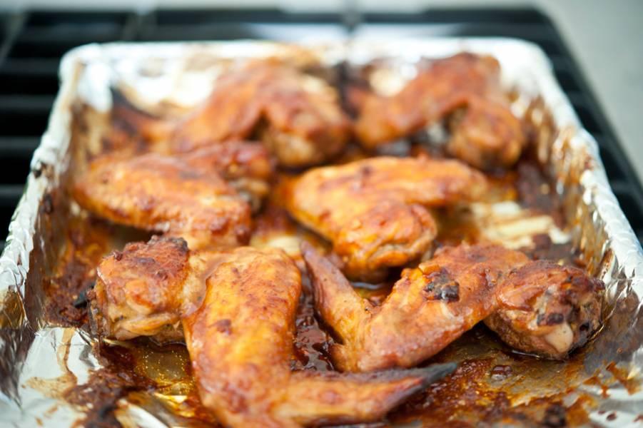 Крылышки под соусом - пошаговый рецепт с фото на