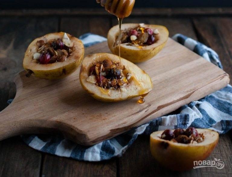Медовая груша - пошаговый рецепт