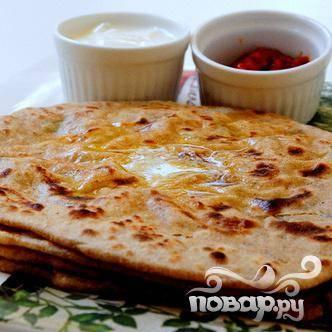 Индийский хлеб - пошаговый рецепт