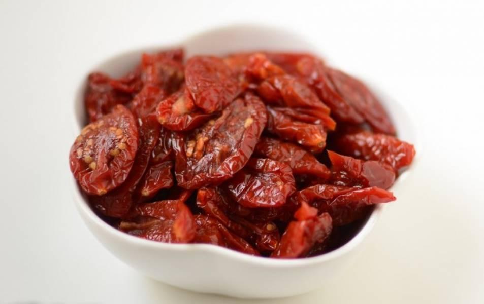 Дип из вяленых помидоров - пошаговый рецепт
