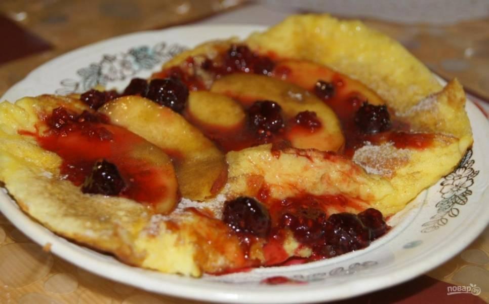 Сладкий завтрак из яиц - пошаговый рецепт