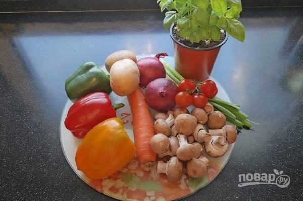 Постный фаршированный перец - пошаговый рецепт с фото на
