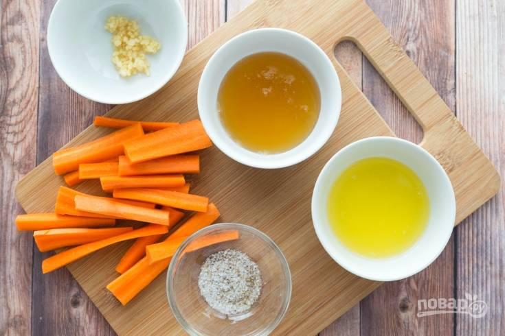 Морковь в медовом соусе - пошаговый рецепт