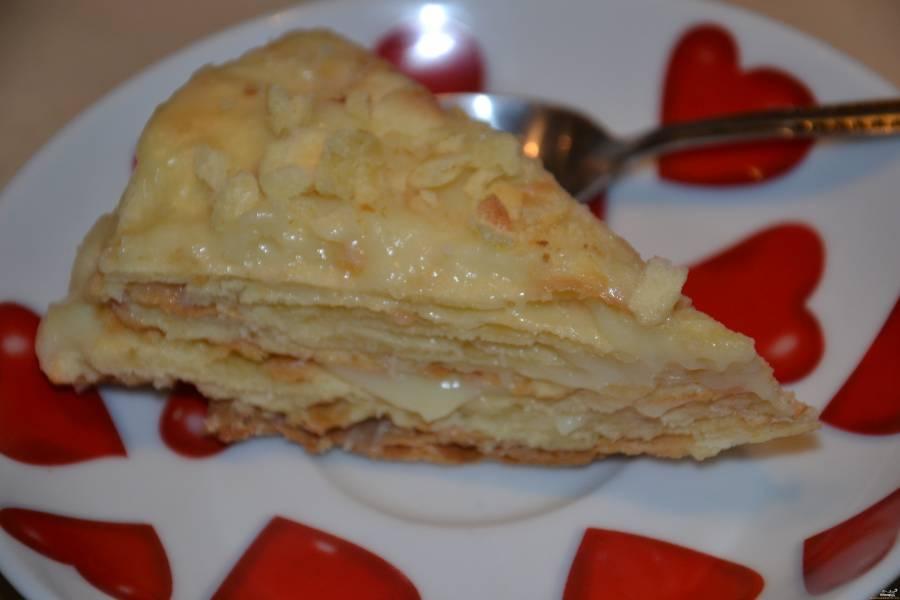 Слоеное тесто рецепты тарт