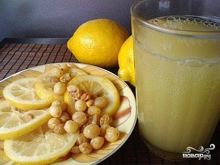 Квас из лимона
