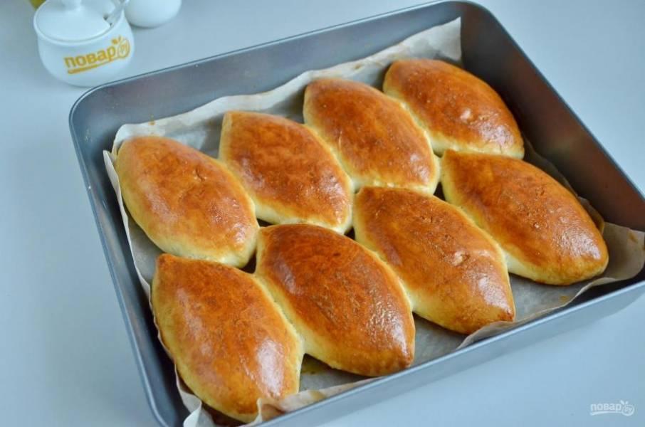 10. Домашние пирожки с капустой готовы! Ароматные, нежные, невозможно отказаться! Пробуйте и приятного аппетита!